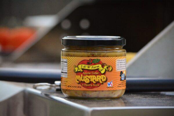 Jar of mustard
